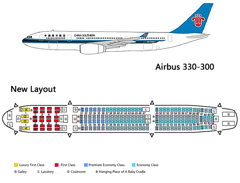 Cathay Pacific Airbus A330 Seating Chart