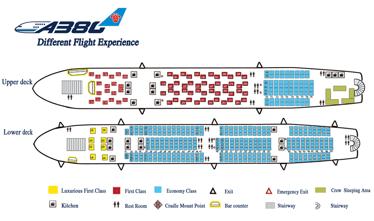 Airbus Industrie A333 Jet Seating Plan http://www.jetabroad.com.au/China_Southern_Airlines